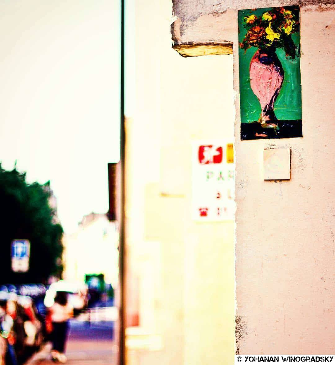 Bonne journée, mon amour – Street art de Niyaz Nadjafov, Paris