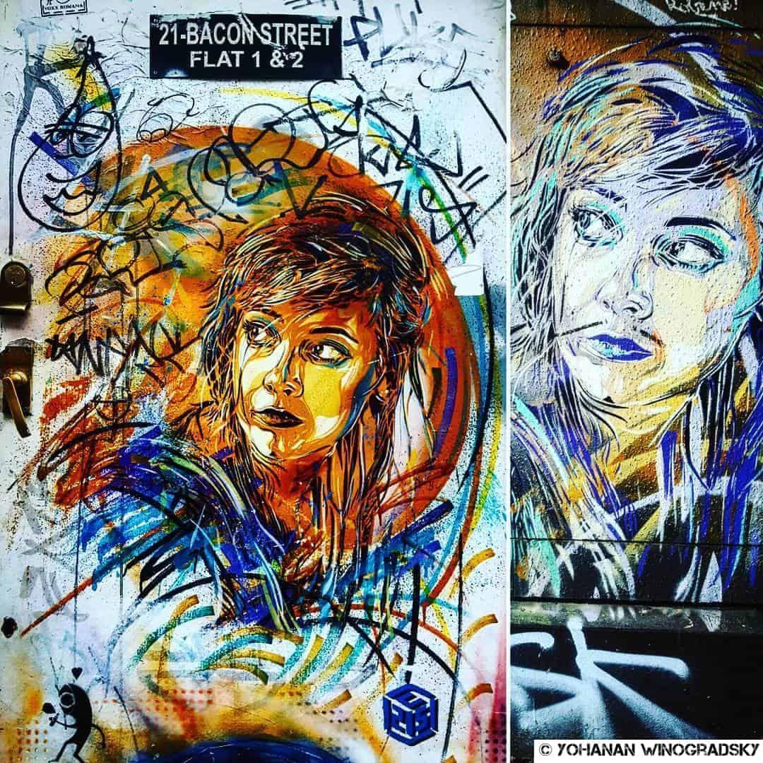 Le don d'ubiquité – Street art de c215, Londres & Paris