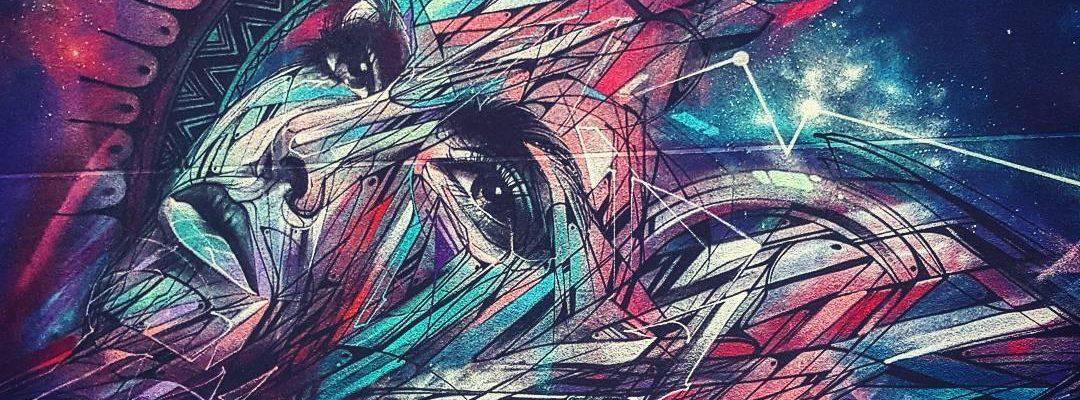 Le sommeil d'Hugo – Street art d'Hopare, Paris