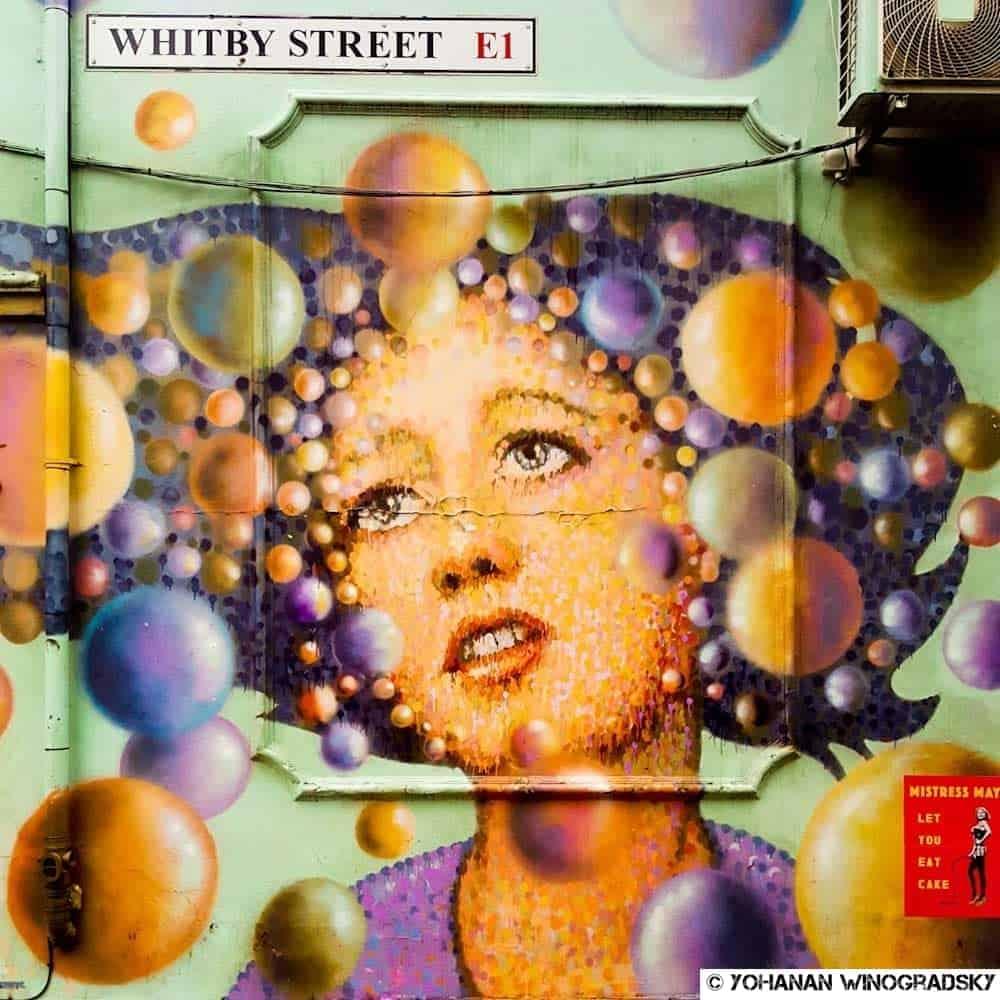 Session shoping – Street art de Jimmy C, Londres