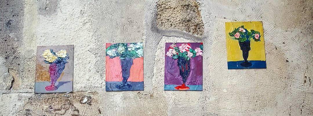 L'amoureux caché – Street art de Niyaz Nadjafov, Paris