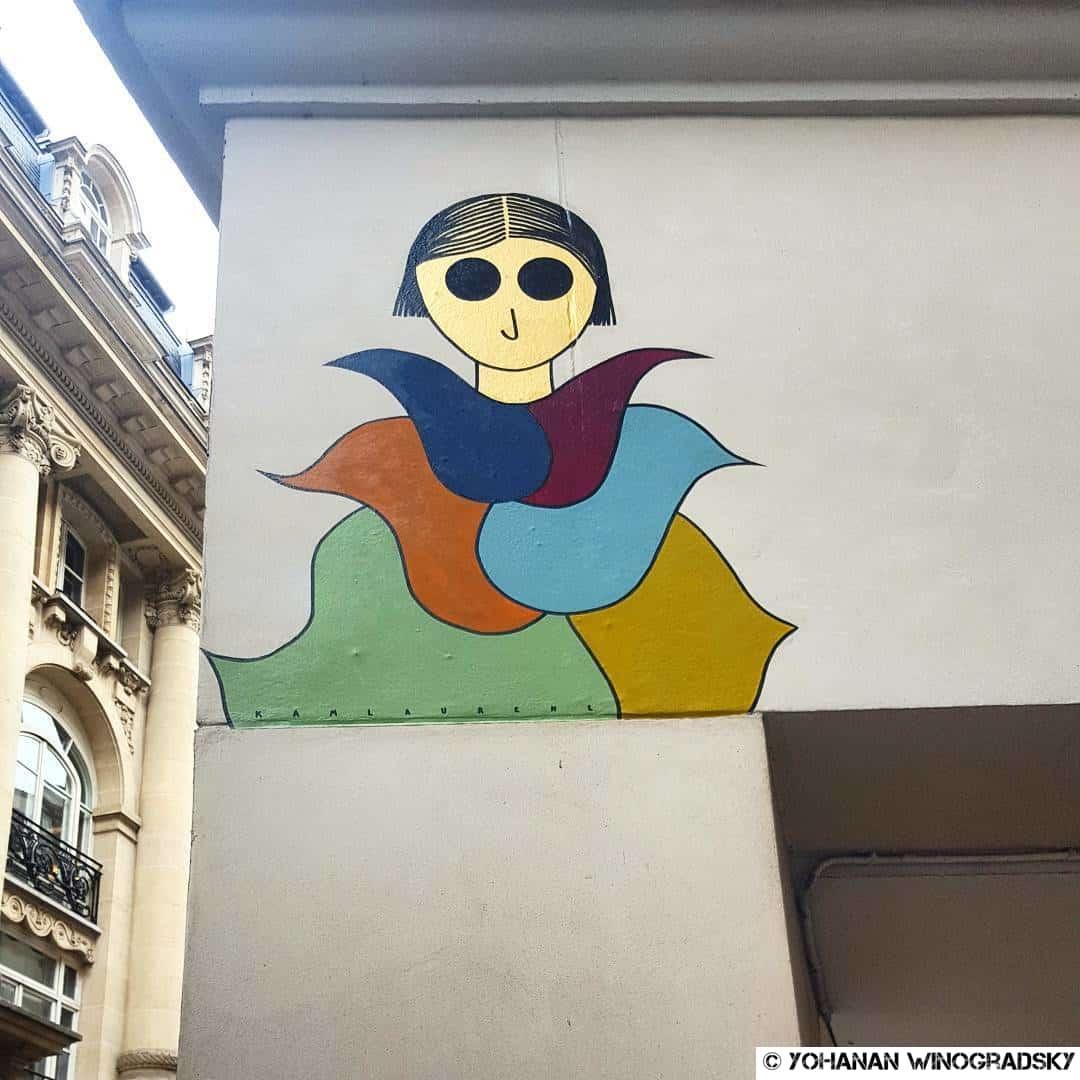 J'm'y crois trop! – Street art de Kam & Laurène, Paris