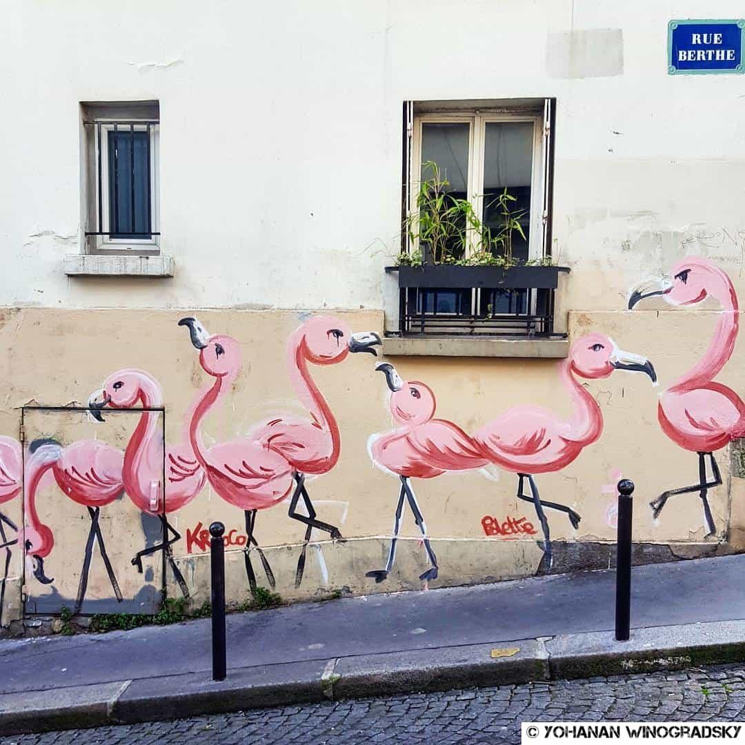 Les Flamants Roses de Montmartre – Paris