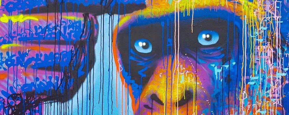 Réveil dans l'inconnu – Street art de Marko93, Paris