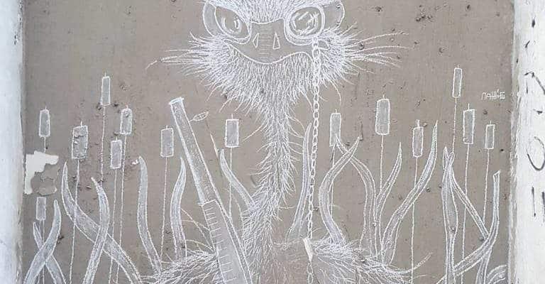 L'Autruche-En-Gris mobilise – Street art par Matthieu, Paris