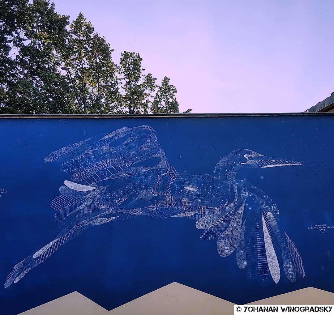 Rêverie – Street art par Philippe Baudelocque, Paris