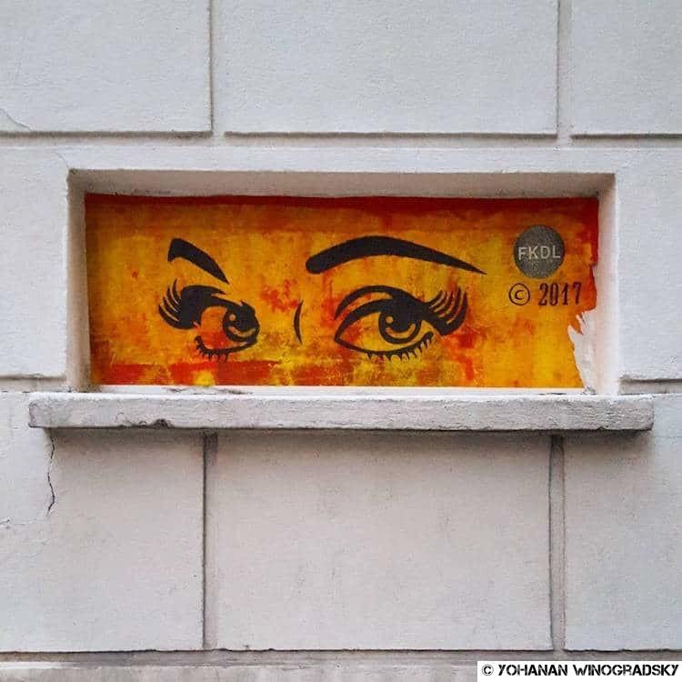 streetart paris par FKDL frank duval